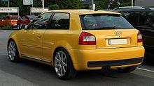 Audi S3 (8L, Facelift) – Heckansicht, 20. Mai 2011, Mettmann.jpg