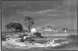 Ein Dorf am Nil
