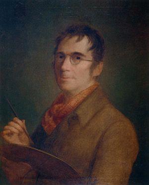 Agustín Esteve - Generally believed to be his  self-portrait (c.1815)