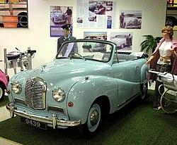 Austin A40 Somerset Cabriolet (1952)