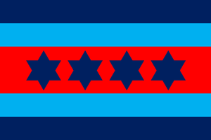 Air chief marshal (Australia) - An air chief marshal's officer distinguishing flag