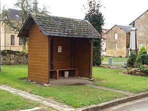 Authe - The Village bus stop