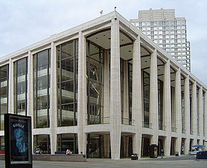 Max Abramovitz - David Geffen Hall, formerly known as Avery Fisher Hall at Lincoln Center.