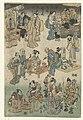 Avondmarkt in de Joruri straat Afbeelding van de voorspoed in de Joruri straat (serietitel) Jorurimachi hanka no zu (serietitel op object), RP-P-OB-JAP-28.jpg
