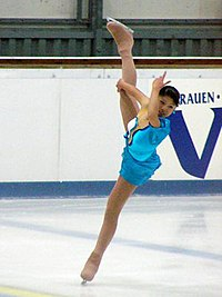 Ayako Hagiwara 2004 Junior Grand Prix Germany.jpg