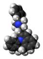 Azipramine molecule spacefill.png