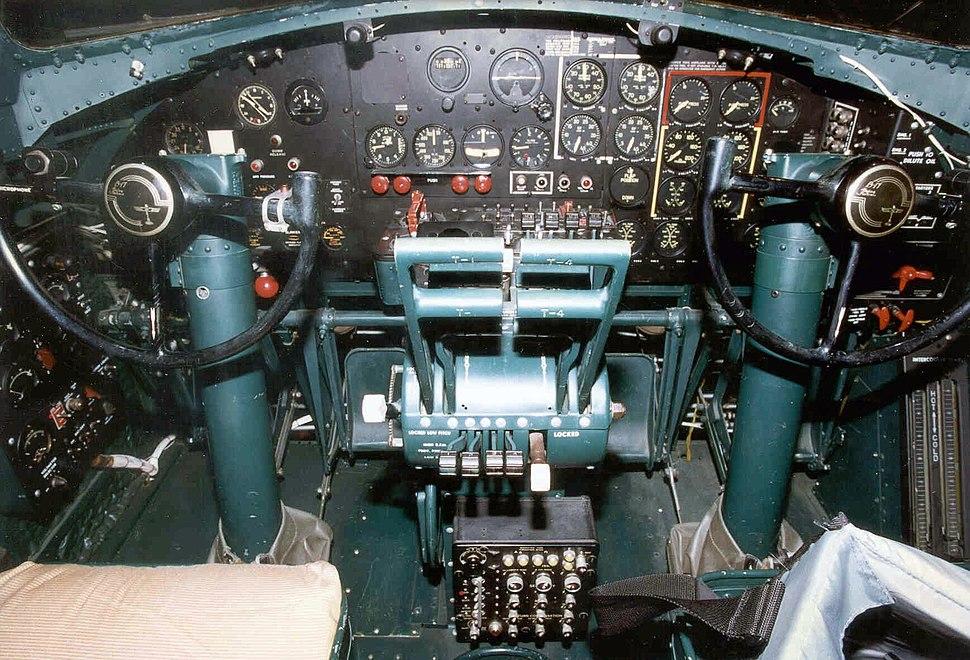 B-17 Flying Fortress Cockpit