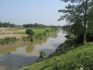 Bogra District - Karatoa River near Mahasthangarh