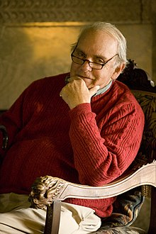 Frederick Buechner in his home, 2008