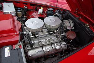 BMW OHV V8 engine - BMW OHV V8 installed in a BMW 503