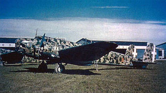 Fiat BR.20 - A Fiat B.R.20M of 242 Squadron, 99 Group, 43 Wing, 1940