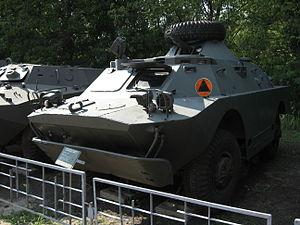 BRDM-2 armored scout car at the Muzeum Polskiej Techniki Wojskowej in Warsaw (1).JPG