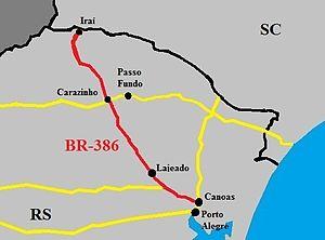 BR-386 - Image: BR 386