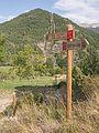 Badaín - GR 15 - Poste indicador 01.jpg