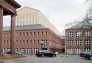 State libraries of Germany - Image: Badische Landesbibliothek Karlsruhe