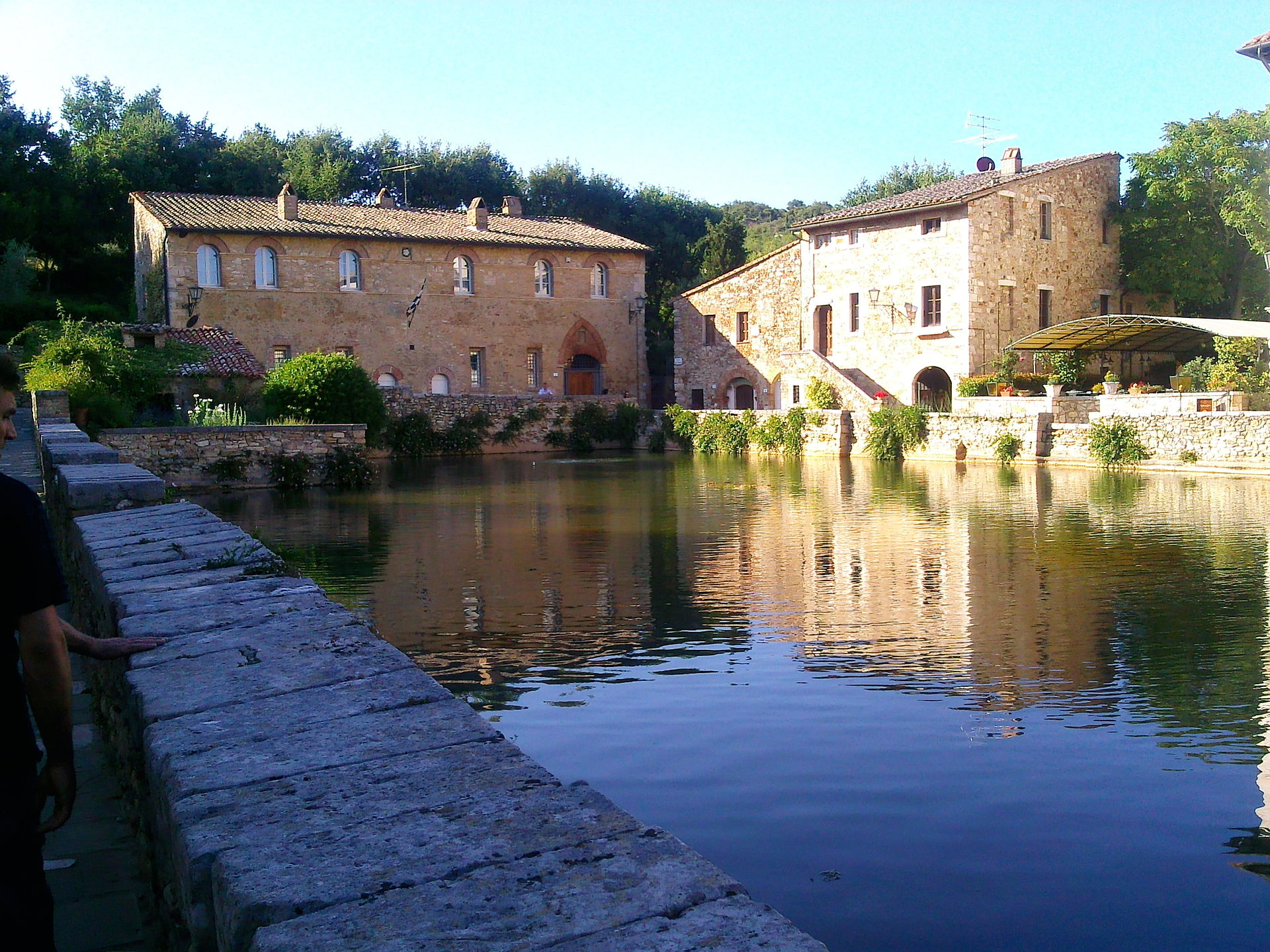 Bagno vignoni wikipedia - Il loggiato bagno vignoni ...