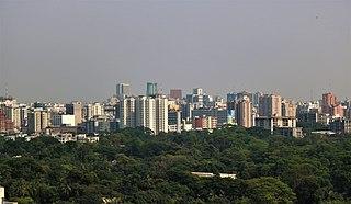 Capital city in Dhaka Division, Bangladesh