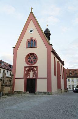 Bamberg, Spitalkirche St. Elisabeth, 001