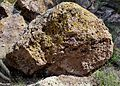Bandelier National Monument in September 2011 - tuff from Jemez Volcano.JPG