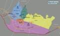Bandung Wikivoyage districts map.png