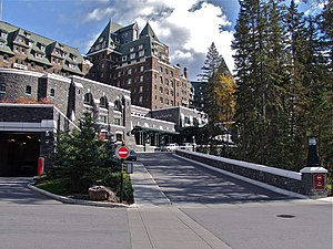Fairmont Hotels and Resorts - Image: Banff Springs Hotel panoramio Jack Borno (1)