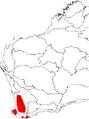 Banksia squarrosa map.png