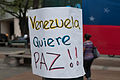Banner at demonstrations and protests against Chavismo and Nicolas Maduro government 05.jpg