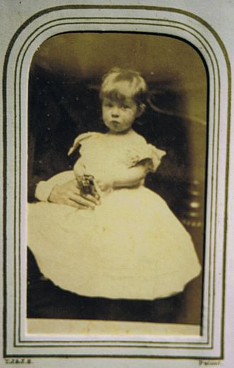 Tabley House - A granddaughter of the 2nd Lord De Tabley, painter and photographer Mrs Alfred Sotheby/Barbara Leighton (1870-1952) as an infant.