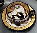 Barraud messeri & c. (bmc), servizio da tè, sesto fiorentino 1930-37, 04 tazzina e piattino.jpg