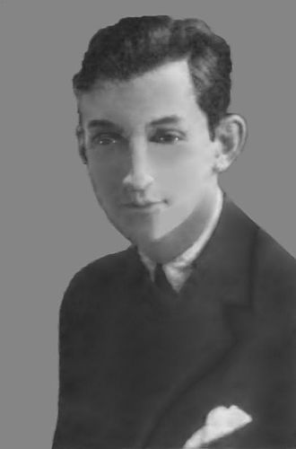 Bartlett Cormack - Photo from The University of Chicago Magazine, November, 1921, the year he wrote the script for Anybody's Girl.