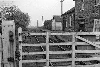 Barton-le-Street - Image: Barton le Street Station 1767356 004b 2eec