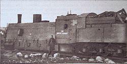 Parowóz pancerny z 1920 pociągu Bartosz Głowacki