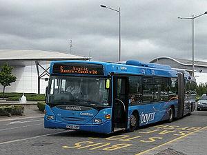 Baycar - Image: Baycar bus, Cardiff