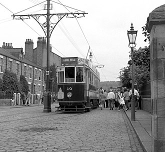 Gateshead and District Tramways Company - Car 10 preserved at the Beamish Museum