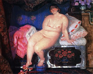 Beauty - Kustodiev, 1921.jpg