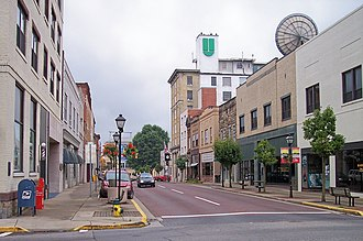 Beckley, West Virginia - Image: Beckley Main Street