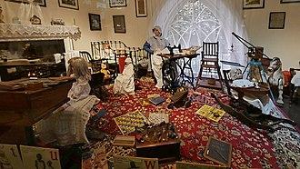 Beck Isle Museum - Image: Becks Isle Museum Pickering Living Room H1d