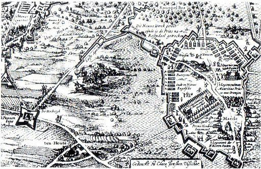 Beleg van Breda 1624 Staats bivak