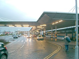 Belfast International Airport - Kerbside of the terminal building