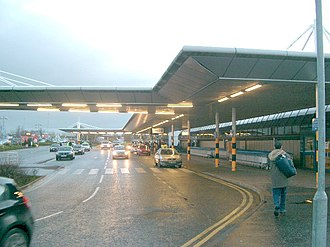 Belfast International Airport - Kerbside of the terminal building
