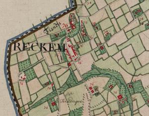 Rekkem - Image: Belgique Reckem