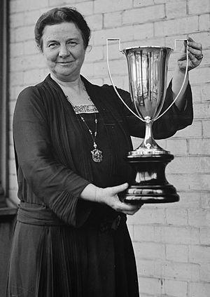Belle Sherwin - Belle Sherwin in 1924