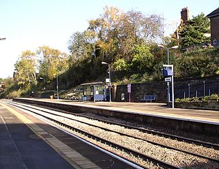 Belper railway station Railway station in Derbyshire, England