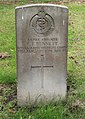 Bennett (Thomas Edward) CWGC gravestone, Flaybrick Memorial Gardens.jpg