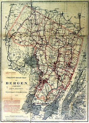 Bergen County, New Jersey - Bergen County, 1896.