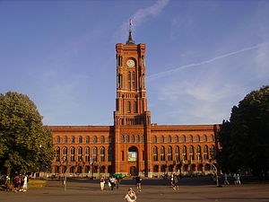 Rotes Rathaus - Rotes Rathaus (Red City Hall) of Berlin