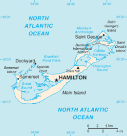 Bermuda - Mappa