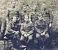 Bermuda Volunteer Rifle Corps soldiers with Lincolnshire Regiment 1918.jpg