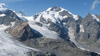 Piz Bernina - View from Diavolezza
