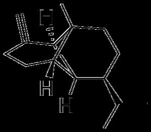 Copaene - Image: Beta copaene